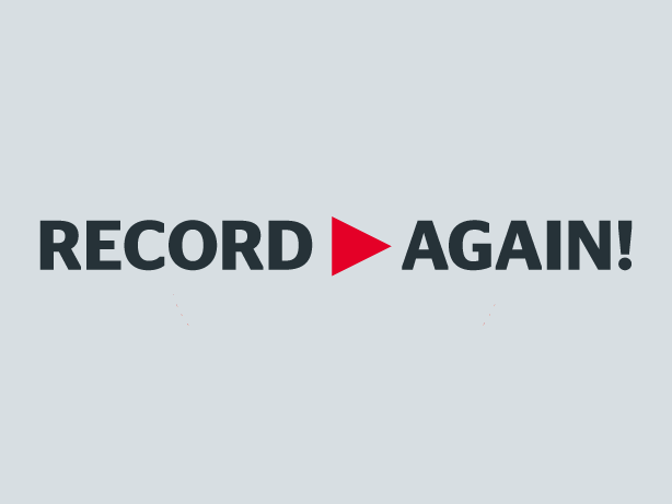 record>again!, Publikation